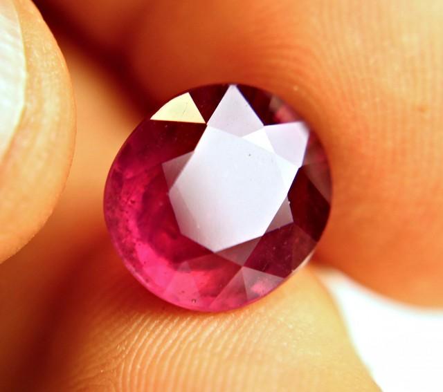9.81 Carat Fiery Ruby - Superb