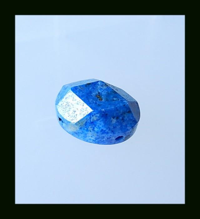 28.15 Cts Faceted Lapis Lazuli Cbaochon