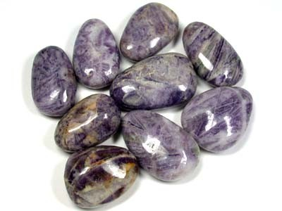 9 NATURAL PURPLE LACE AGATE BEADS RA1484