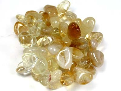 HIGHLY POLISHED CITRINE NECKLACE BEADS  RA1500