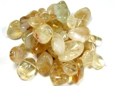 HIGHLY POLISHED CITRINE NECKLACE BEADS  RA1503