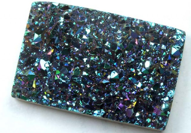 60 CTS NATURAL DRUSY  TBG-1299