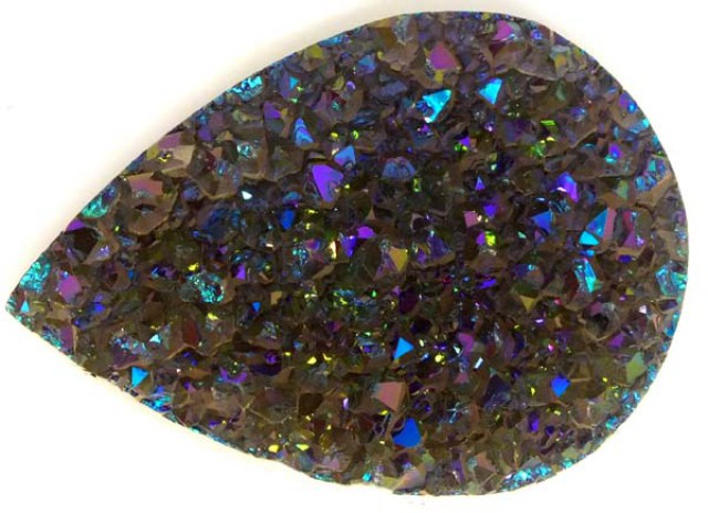(TBO) NATURAL DRUSY  30 GMS/ 150 CTS TBG-1351