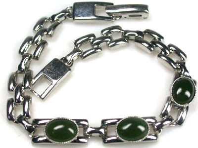 NATURAL JADE BRACELET  18 CM LONG  RL18