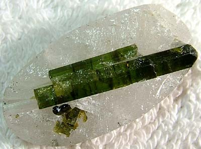 (MGW)  TOURMALINE SPECIMEN 55 CTS FP 370