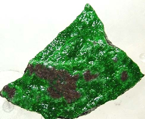 (MGW) UVAROVITE SPECIMEN FROM RUSSIA  15 CTS FP 466
