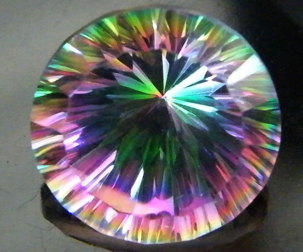MYSTIC QUARTZ  ''TWILIGHT ZONE'' VS  7.05CTS  [S2576]