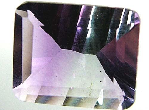 FLUORITE -BRILLIANT CLEAN BI-COLOURS 4.6 CTS [S2372]