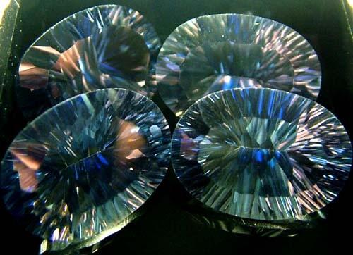 MYSTIC QUARTZ  '' BLUE LAGOON''  PARCEL VS 46.9 CTS  [S2810]