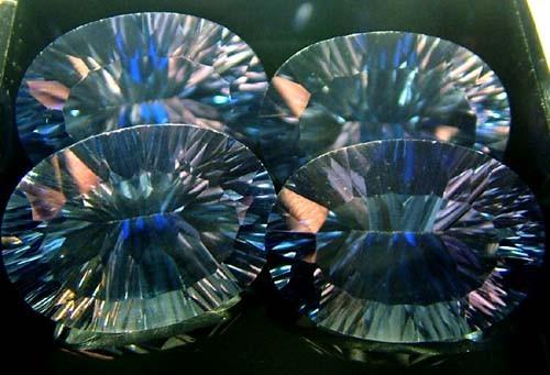 MYSTIC QUARTZ  '' BLUE LAGOON''  PARCEL VS 47.7 CTS  [S2809]