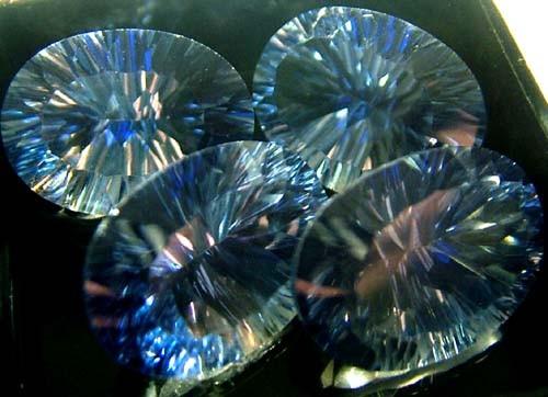 MYSTIC QUARTZ  '' BLUE LAGOON'' PARCEL VS 48.6  CTS  [S2808]