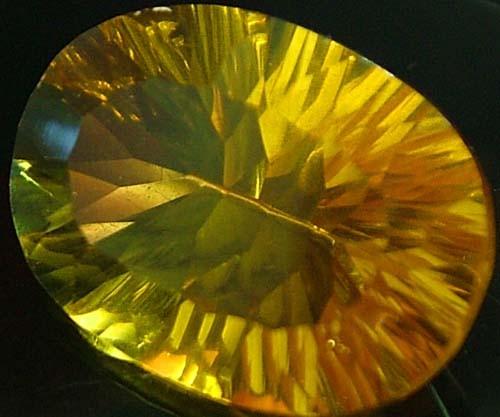 FLUORITE -BRILLIANT CLEAN  GOLDEN COLOURS 15.2 CTS [S2851]