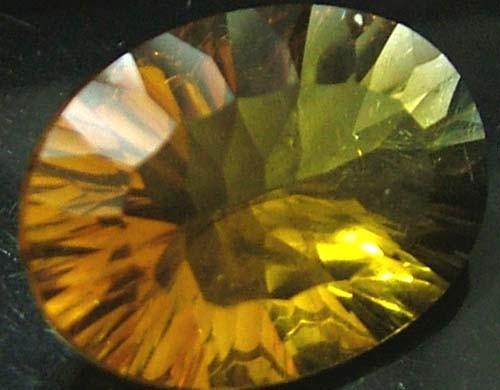 FLUORITE -BRILLIANT CLEAN  GOLDEN COLOURS 12.6 CTS [S2860]