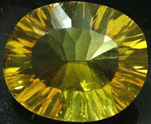FLUORITE -BRILLIANT CLEAN  GOLDEN COLOURS 9.4 CTS [S2867]