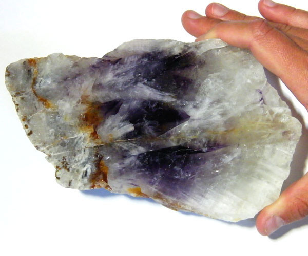 POLISHED QUARTZ AND AMETHYST   SPECIMEN   3575CTS  MY615