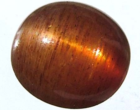 CATS EYE SUNSTONE 3.6 CTS  [S3051  ]