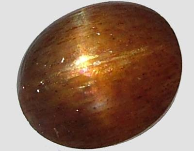 CATS EYE SUNSTONE 2.8 CTS  [S3065  ]