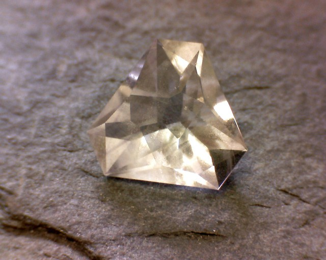 Custom Cut Gem Fluorite from Elmwood Mine in Tennessee