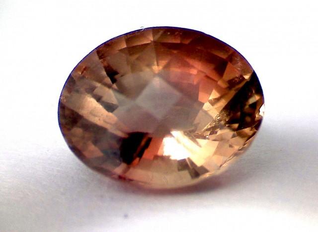 1.95ct Sparkling Bright Peachy- Brown Tourmaline VVS - A128
