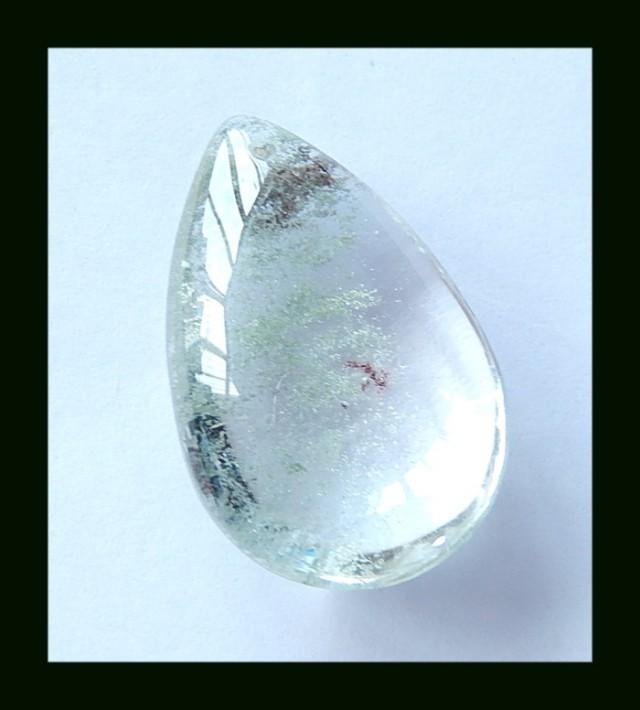 49.5 Cts Natural Lodolite Quartz ,Mystery Quartz Gemstone Bead