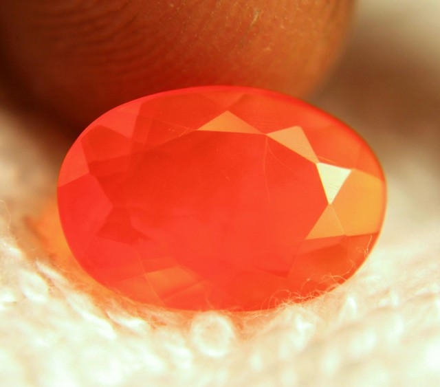 2.0 Carat Natural Mexican Fire Opal - Gorgeous
