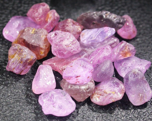 22.1 CTS PINK SAPPHIRE ROUGH -AFRICA [F5956]