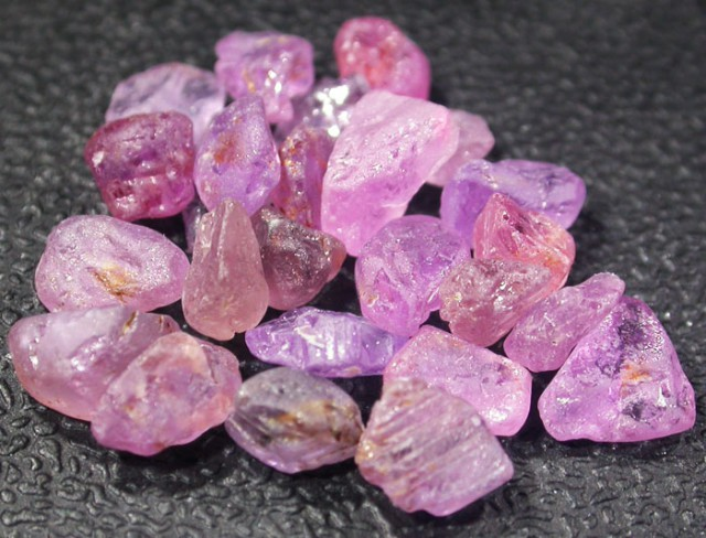 20.1 CTS PINK SAPPHIRE ROUGH -AFRICA [F5960]