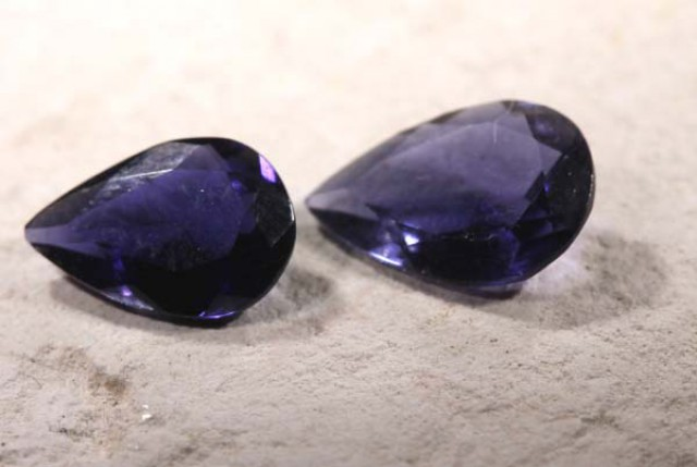 IOLITE NATURAL FACETED 0.95 CTS LG- 1178