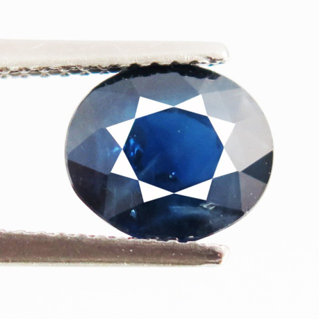3.81ct Natural Intense Blue Oval sapphire- VVS/ VS - DR30
