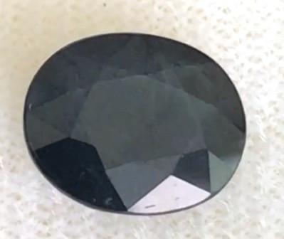 3.34ct l Intense Blue Oval sapphire-  DR31 G594