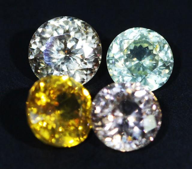 6.95 CTS ZIRCON PARCEL FROM SRI LANKA -  TOP DIAMOND CUT [ST9596]