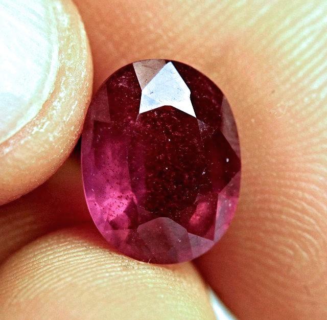 7.64 Carat Fiery, Sparkling Ruby