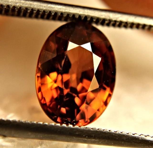 3.38 Carat VVS Orange Zircon - Beautiful