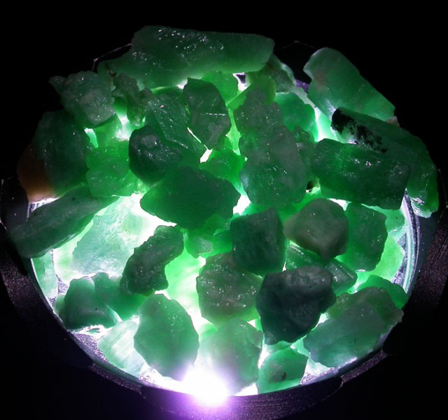 Parcel Emerald rough  From Afghanistan  AGR 1651