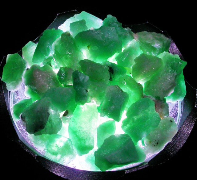 Parcel Emerald rough  From Afghanistan  AGR 1657
