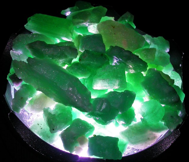 Parcel Emerald rough  From Afghanistan  AGR 1667