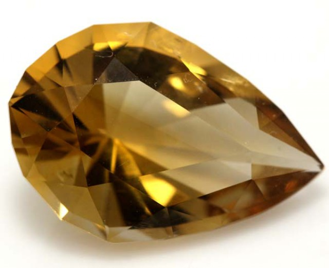 CITRINE NATURAL FACETED 12.20 CTS CG-1797