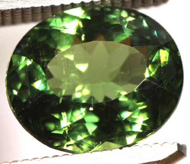 2  CTS GREEN TOURMALINE FACETED STONE CG-1784 GC