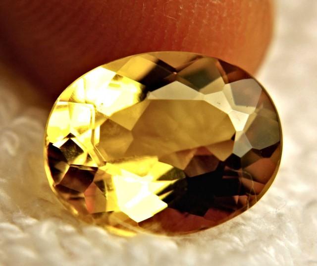 3.95 Carat VVS Golden Yellow Beryl - Gorgeous