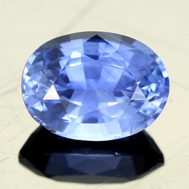 1.13CTS CERTIFIED BLUE CEYLON SAPPHIRE [CDS850]