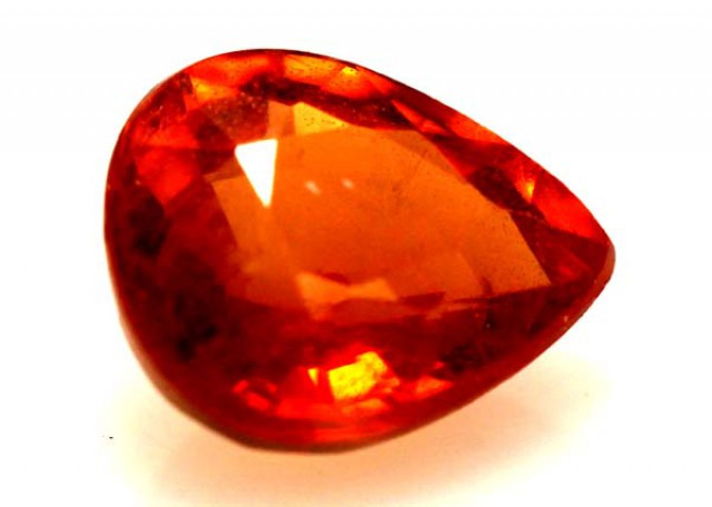 0.90 CTS   ORANGY RED SAPPHIRE CG-1862   GC