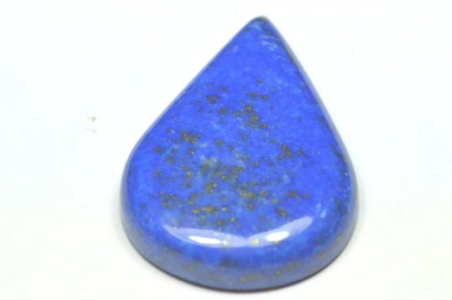 Lapis Lazuli blue drop pear cabochon large