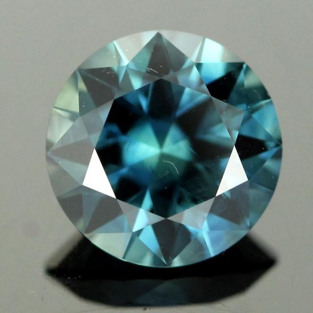 1 97cts Australian Sapphire Teal Blue Rsa274