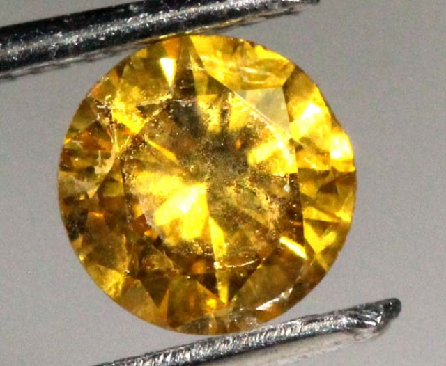 YELLOW SAPPHIRE FACETED  .45   CTS P-4