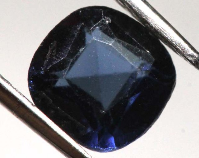 DEEP BLUE SAPPHIRE FACETED 1.15    CTS P-9