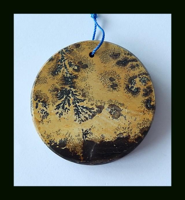 134.5 Cts Natural Chohua Jasper Round Bead Pendant Beads