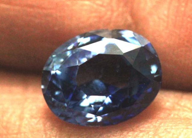 SAPPHIRE FACETED  GEMSTONE 2.02  CTS  TBM- 637    GC
