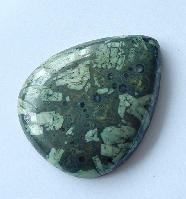 142.45 Cts Natural Plant Fossil Cabochon