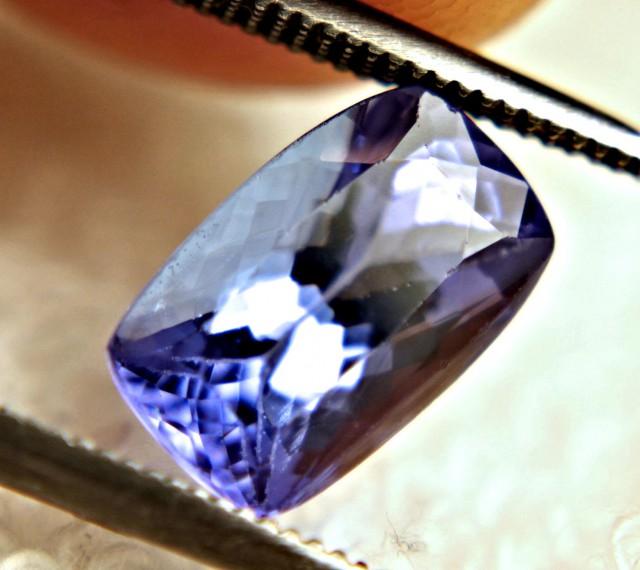 CERTIFIED - 2.38 Carat VVS African Tanzanite - Superb