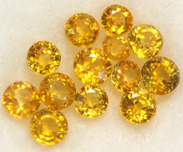 YELLOW SAPPHIRE PARCELS 1.0 CTS   GC